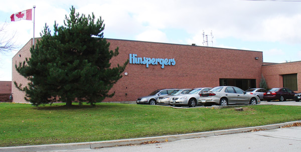 Hinspergers Mississauga, Ontario